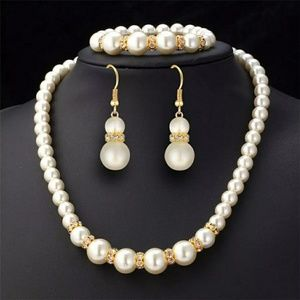 Jewelry Set Simulated Pearl
